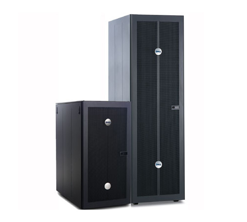 hardware attitude armoire rack 24u dell powerrack 2410 noir. Black Bedroom Furniture Sets. Home Design Ideas