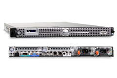 Serveur Dell Poweredge 1950 Rack 1U Dual Quad Core