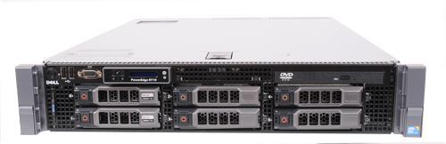 hardware attitude serveur dell poweredge r710 quad core 12 tera rack 2u. Black Bedroom Furniture Sets. Home Design Ideas